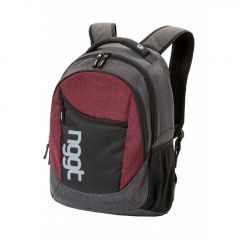 Nugget Rapid 2 Backpack A - Heather Grey, Heather Red