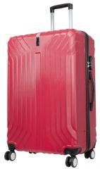 Cestovní kufr PALMA RED BRIGHT velký L