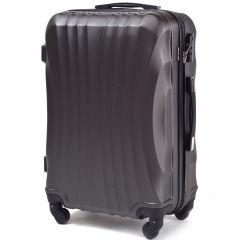 Cestovní kufr WINGS 159 ABS DARK GREY malý S