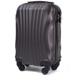 Cestovní kufr WINGS 159 ABS DARK GREY malý xS