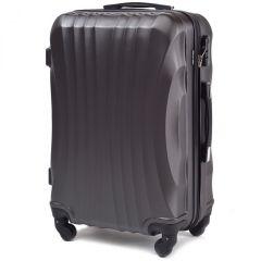 Cestovní kufr WINGS 159 ABS DARK GREY velký L