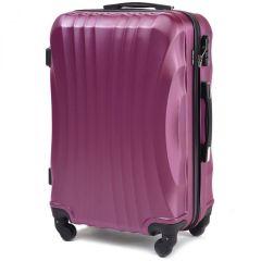 Cestovní kufr WINGS 159 ABS DARK PURPLE malý S