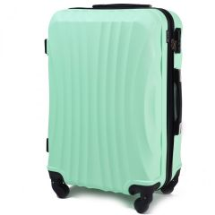 Cestovní kufr WINGS 159 ABS LIGHT GREEN velký L