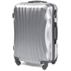 Cestovní kufr WINGS 159 ABS SILVER malý S