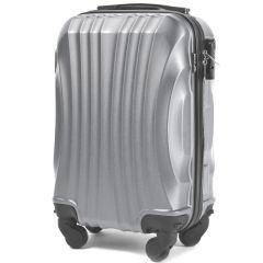 Cestovní kufr WINGS 159 ABS SILVER malý xS