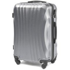 Cestovní kufr WINGS 159 ABS SILVER střední M
