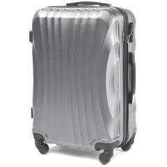 Cestovní kufr WINGS 159 ABS SILVER velký L