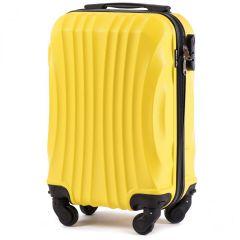 Cestovní kufr WINGS 159 ABS YELLOW malý xS