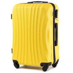 Cestovní kufr WINGS 159 ABS YELLOW střední M