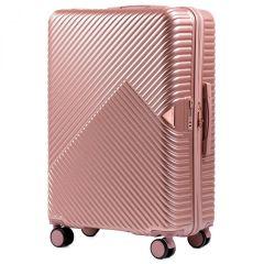 Cestovní kufr WINGS DOVE ABS+TSA ROSE GOLD velký L