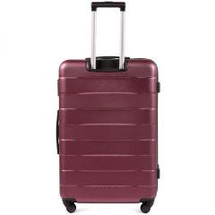 Cestovní kufry sada WINGS CAMARO ABS BURGUNDY L,M,S E-batoh