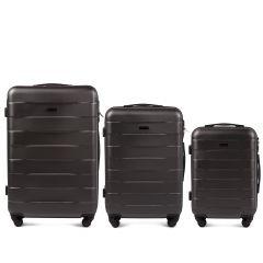 Cestovní kufry sada WINGS CAMARO ABS DARK GREY L,M,S