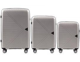Cestovní kufry sada WINGS MALLARD ABS POLIPROPYLEN BEIGE L,M,S