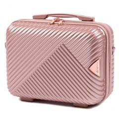 Kosmetický kufřík WINGS DOVE ABS ROSE GOLD