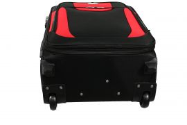 Sada 3 textilních kufrů RGL 1003 BLACK-RED L/M/S E-batoh