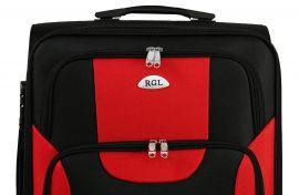 Sada 3 textilních kufrů RGL 1003 BLACK-BLUE L/M/S E-batoh
