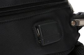 Batoh Wings USB BP18 BLACK E-batoh