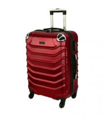 Cestovní kufr RGL 730 ABS DARK RED malý XS