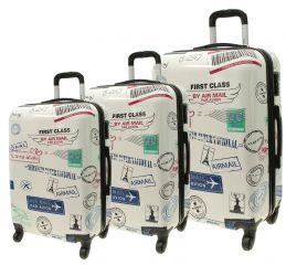 Cestovní kufry sada ABS FIRST CLASS L,M,S