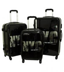 Cestovní kufry sada ABS NYC L,M,S