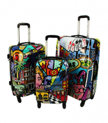 Cestovní kufry sada ABS PICASSO L,M,S