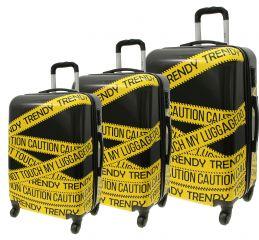 Cestovní kufry sada ABS TRENDY L,M,S