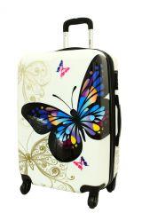 Cestovní kufr ABS MOTYL malý S