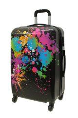 Cestovní kufr ABS COLOR-MIX střední M