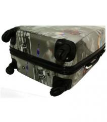 Cestovní kufr ABS TRENDY střední M RGL E-batoh
