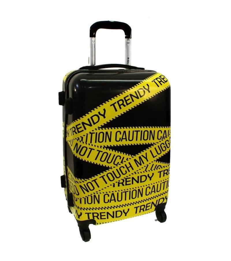 Cestovní kufr  ABS TRENDY střední M