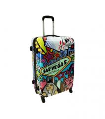 Cestovní kufr ABS PICASSO velký L