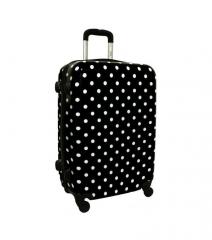 Cestovní kufr ABS BLACK-DOT střední M