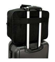 Příruční zavazadlo pro WIZZAIR 40x30x20 BLACK-BLUE RGL E-batoh