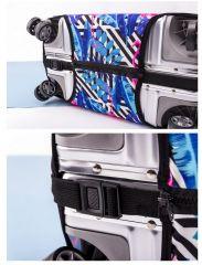 Obal na kufr RŮŽE velký XL E-batoh
