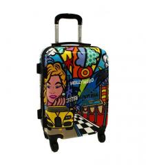 Cestovní kufr ABS PICASSO malý S