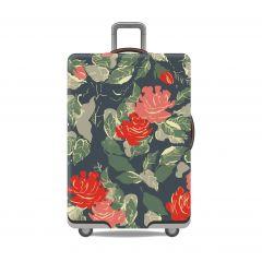 Obal na kufr RŮŽE velký XL