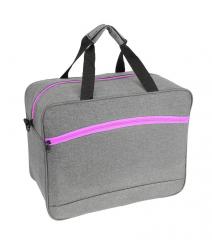 Příruční zavazadlo pro WIZZAIR 55x40x20 GREY-PINK