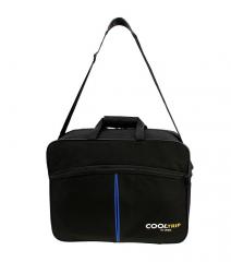 Příruční zavazadlo pro WIZZAIR 40x30x20 BLACK-GREEN RGL E-batoh