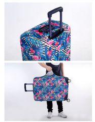Obal na kufr RŮŽE velký L E-batoh