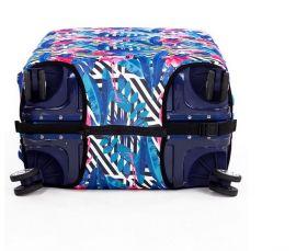 Obal na kufr Plameňák růžový malý S E-batoh