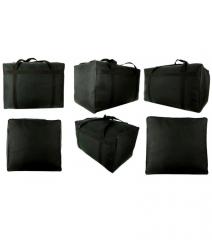 Velká cestovní taška RODOS TP5XL - BLACK 185L RGL E-batoh