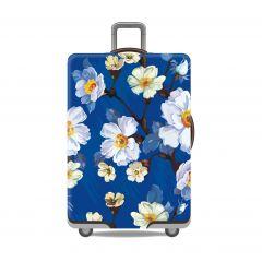 Obal na kufr KVĚTY velký XL