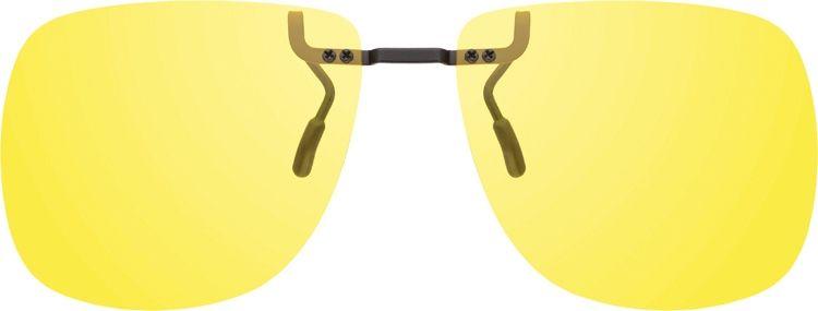 MONTANA EYEWEAR Polarizační KLIP NA BRÝLE 1972C se žlutou čočkou na noční vidění pro řidiče