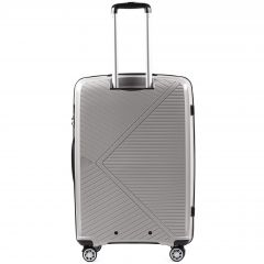 Cestovní kufr WINGS MALLARD ABS POLIPROPYLEN BEIGE velký L E-batoh