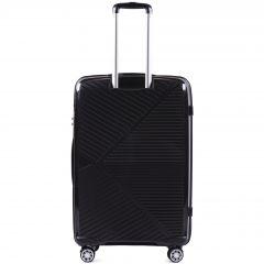Cestovní kufr WINGS MALLARD ABS POLIPROPYLEN BLACK velký L E-batoh