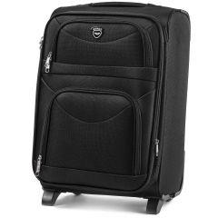 Cestovní kufr WINGS 6802 BLACK střední M