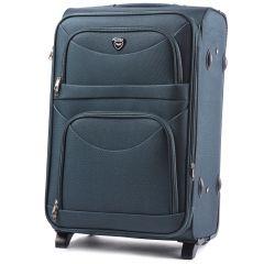 Cestovní kufr WINGS 6802 GREEN střední M