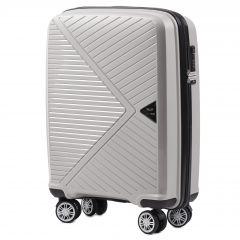 Cestovní kufr WINGS MALLARD ABS POLIPROPYLEN BEIGE malý S