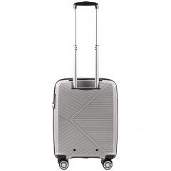 Cestovní kufr WINGS MALLARD ABS POLIPROPYLEN BEIGE malý S E-batoh