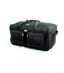 Cestovní taška na kolečkách RODOS A1 BLACK- 100L